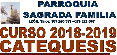 Catequesis curso 2018-19
