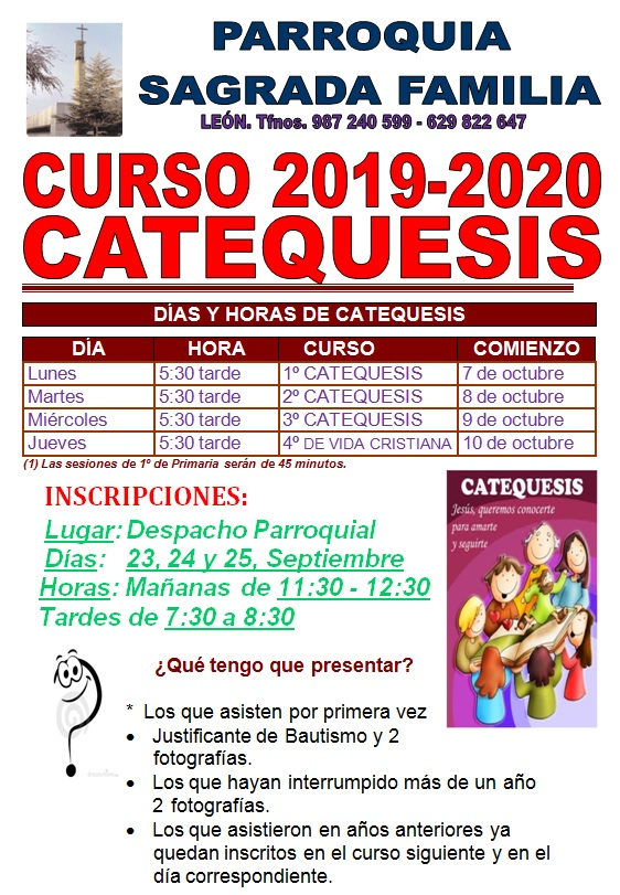 CATEQUESIS 19 20